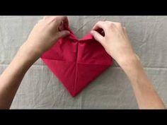 Guide: Fold dine servietter som fine julehjerter | Spis Bedre