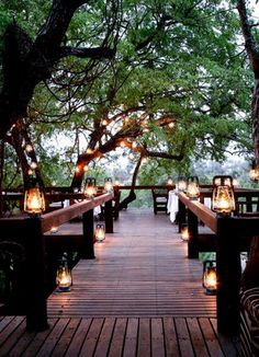 Outside lighting #weddingdecor #weddingdecorations #weddings - Find more like this at http://www.myweddingconcierge.com.au