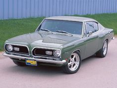 '69 Plymouth Barracuda