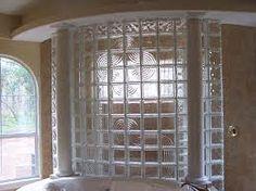 Image result for glass block shower