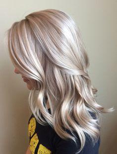 Creamy light blonde