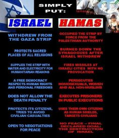 Israel vs Hamas-- this sums it up perfectly. Holy Land, Judaism, Religion, Knowledge, Wisdom, Feelings, Words, High Ground, Middle East