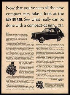 American sunbather february 1959 1959 pinterest austin a40 compact car british bmc auto 1959 photo ad fandeluxe Image collections