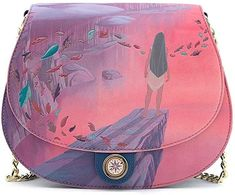 Loungefly Pocahontas Colors of the Wind Crossbody Bag Pocahontas Cosplay, Disney Pocahontas, Disney Princess, Pocahontas Colors Of The Wind, Disney Renaissance, Best Crossbody Bags, Disneybound, Disney Style, Travel Bag