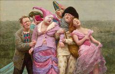 Kenne Gregoire 1951 | New realism http://www.tuttartpitturasculturapoesiamusica.com/2011/12/kenne-gregoire-1951-new-dutch-realism.html#