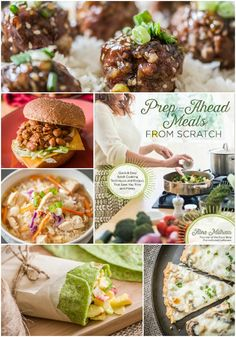 """By batch cooking, you can prep the ingredients for multiple family-friendly meals at once, ultimately saving time and money. In Prep-Ahead Meals From Scratch, I set out to redefine """"convenience food"""" by sharing 100 quick and easy recipes, offer speedy food prep techniques, and share money saving shopping strategies and meal planning tips."""