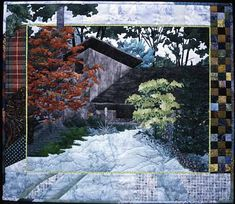 Landscape Quilt (Mary L Hackett) Unbelievable that people can do this!