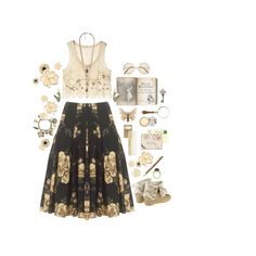 """""""She comes from a fairy tale"""" by childofnovember on Polyvore"""