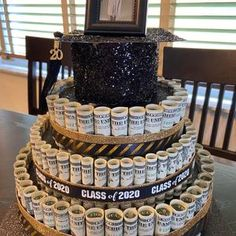 Birthday Money, 50th Birthday Party, Create A Cake, How To Make Cake, Cake Table Birthday, Flat Cakes, 50th Cake, Money Cake, Caking It Up
