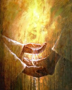 """""""Disse-lhe Pedro: Jamais me lavarás os pés!... Respondeu-lhe Jesus: Se eu não tos lavar, não terás parte comigo. Exclamou então Simão Pedro: Senhor, não somente os pés, mas também as mãos e a cabeça."""" – São João 13, 8-9"""