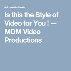 Is this the Shooting Style for You? MDM shoots discreetly, Never making you or your guests feel uncomfortable with the presence of a video camera Videography, Feelings, Videos, Wedding, Style, Valentines Day Weddings, Swag, Weddings, Marriage