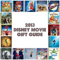 2013 Disney Movie Holiday #GiftGuide