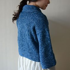 Cotton short cardigan KIT