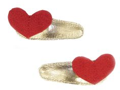 Helloshimo hearts hair clip | Little Vida