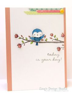 Card by Vera Yates - All stamps by Stacey Yacula for Purple Onion Designs.