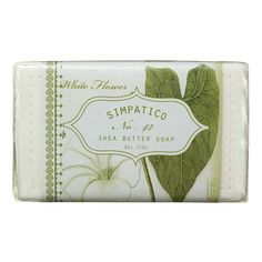 White Flower Tripled Milled Soap by K. Hall Designs - Simpatico Home