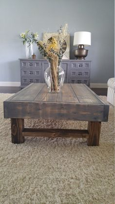 Rustic Coffee Table Farmhouse Table Farmhouse By ArcherHomeDesigns