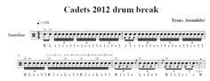 cadets sheet music