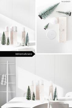 DIY - Kerzenständer für einen Adventskranz selbermachen!