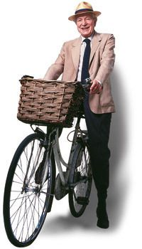 really, what is cuter than an old man on a bicycle? I think nothing.