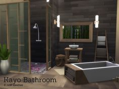 Sims 4 CC's - The Best: Kayo Bathroom by Angela