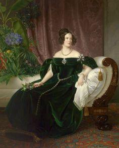 Princess Marianne of the Netherlands, Princess of Prussia, Theodor Hildebrandt, 1837