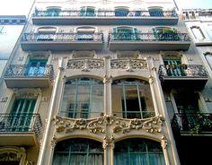 Casa Joaquim Mateu Eudal.  Architect: Josep Pujol i Brull.  Barcelona - Carme (por Arnim Schulz em Flickr)