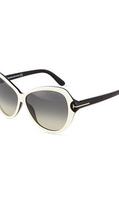 Tom Ford Colorblock Acetate Butterfly Sunglasses - Blogs inspired