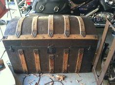 219 Best I Love Antique Trunks Images Antique Trunks Trunks