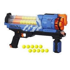Take aim at the competition with Nerf Rival Artemis XVII 3000 Blasters! Each blaster is designed for combat with special Nerf-based projectiles. Toy Nerf Guns, Nerf Toys, Arma Nerf, Pistola Nerf, Nerf Darts, Kids Toys For Boys, Red Team, Thing 1, Gifts For Teens
