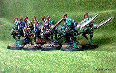 Bizaza Guard Miniatures, Baseball, Minis