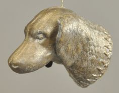 * SILVER DRESDEN DOG CANDY CONTAINER : Lot 1285