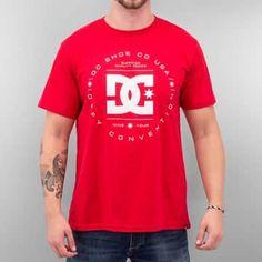 #DC #tshirt #rouge #streetwear #skate #homme #look #idee #ootd