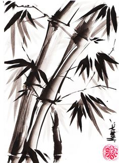 Sumi-e Bamboo