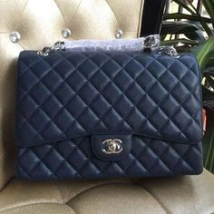 02a3163d73e8 Chanel Coco Bags for Sale: Chanel Maxi Cavar Double Flap Bag 100% Authentic  80