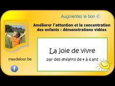 La respiration en pleine conscience : la joie de vivre en maternelle - YouTube