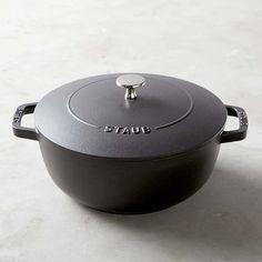 Staub Cast-Iron Essential Oven, 4-Qt., Graphite