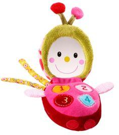 Lizophone, jouet d'éveil en tissu - Lilliputiens