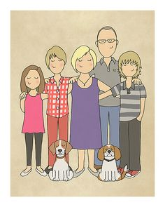 Custom Family Portrait