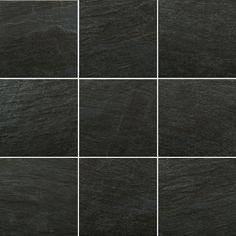 1212 Black Ceramic Floor Tile
