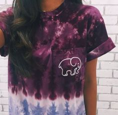 Our pocketed ombré ella tee is now available!!!