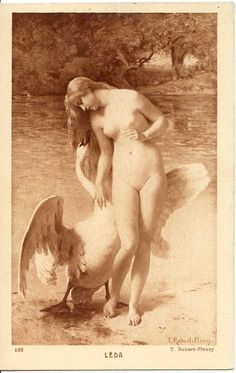 Fleury - Leda with a swan