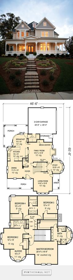 PERFECT FLOORPLAN. House Plan 95560 at FamilyHomePlans.com - created via http://pinthemall.net