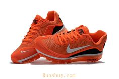 New Coming Nike Air Max 2017 5Max KPU Orange Black Men
