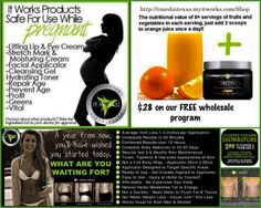 It Works! Products safe to use while pregnant Visit my website at http://www.amazinghealthandbody.myitworks.com
