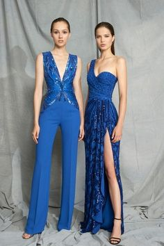 Zuhair Murad Resort 2019 Paris Fashion Show Collection: See the complete Zuhair Murad Resort 2019 Paris collection. Look 11 Couture Mode, Style Couture, Couture Fashion, Runway Fashion, Zuhair Murad, Party Fashion, Fashion Week, Style Bleu, Party Mode