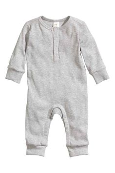 Combinaison en jersey de coton | H&M 9,99euros