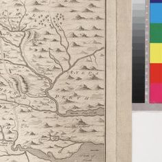 An Exact Plan of His Majesty's Great Roads through the Highlands of Scotland 1745