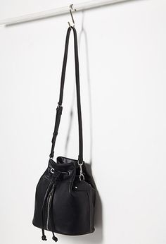 Faux Leather Bucket Bag | Forever 21 - 1000096054