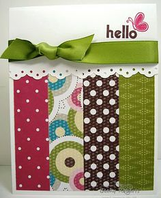 Great way to use up scrap paper.